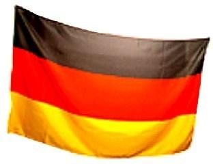 Deutschland-Fahne - schwarz-rot-goldene Deko