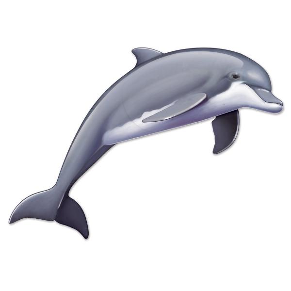 Riesen-Wanddeko Delfin - Deko maritime Unterwasserwelt