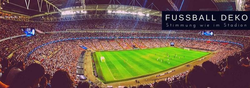 Fussballparty - Stimmung wie im Stadion Fussball Deko