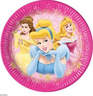 Pappteller Schöne Prinzessin - Mädchenparty Tischdeko