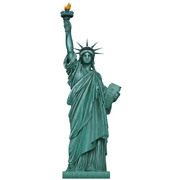 Riesen-Wanddeko Freiheitsstras - USA Deko