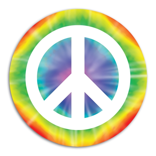 Cutout Dekoschild Peace