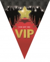 """Wimpelkette """"You are my VIP"""", 5 Meter"""