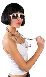 Halskette Disco-Kugel