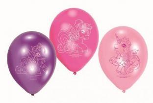 Luftballons Filly Fairy, 6er Pack