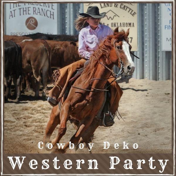 Cowboy Deko Westernparty