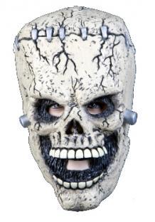 Latexmaske Zombie-Fresse