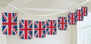 Lampion-Girlande Great Britain