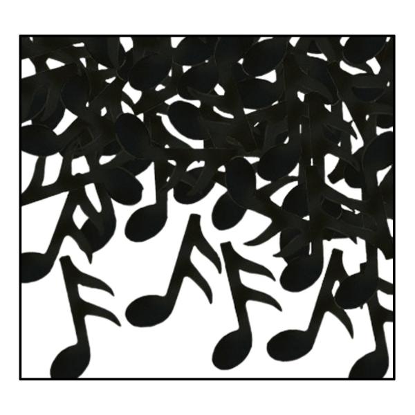 Party-Extra Tischkonfetti Noten - Musik Tischdeko