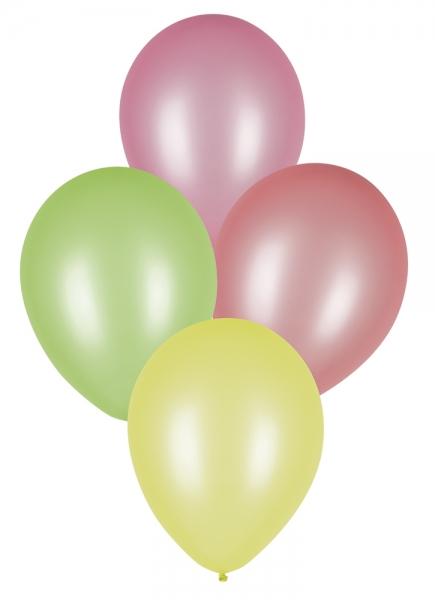 Luftballons Neon, 8er Pack