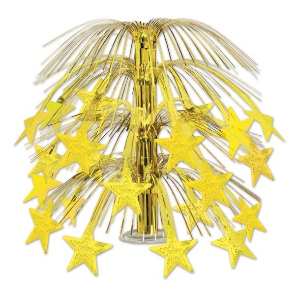 Große Tischkaskade Golden Stars, 45 cm