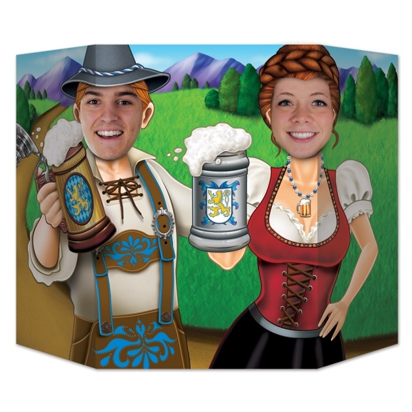 Fotowand-Aufsteller Oktoberfest - Bierfest Partydeko