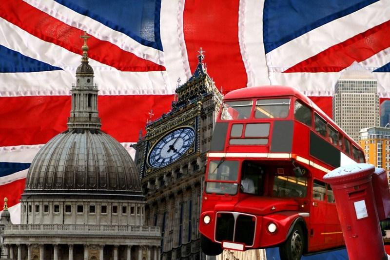 Very British England Deko