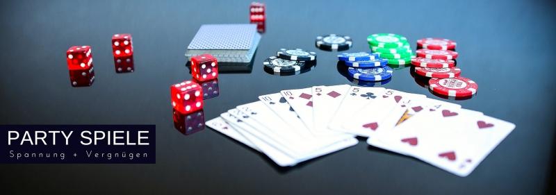 Party-Spiele - Spannung, Spass, Vergnuegen