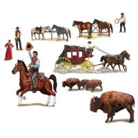 Dekofolien Cowboys - Wild West Wanddeko