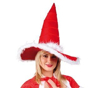 Hexenhut Weihnachts-Frau