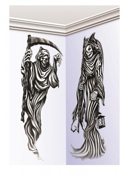 Dekofolien Grim Reaper - Halloween Partydeko