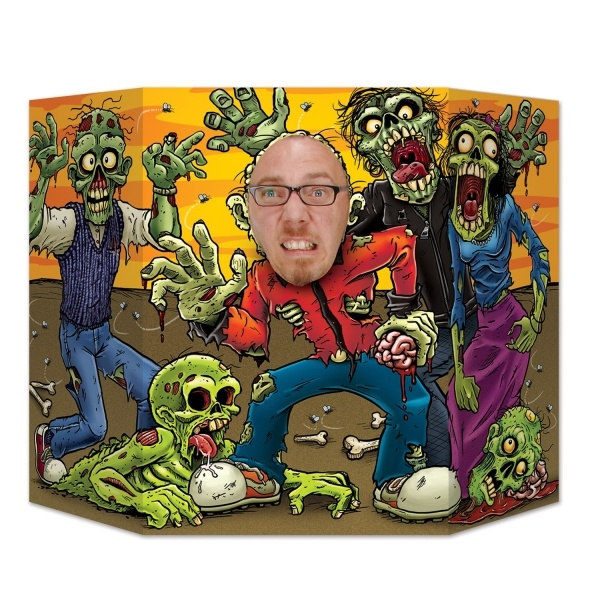 Party-Extra Fotowand-Aufsteller Zombie