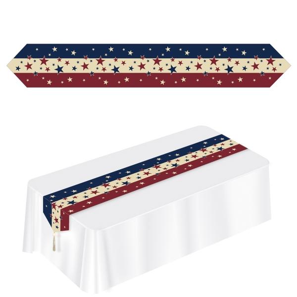 Papp-Tischläufer Americana - USA Deko