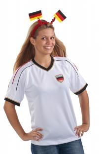 Haarreif Deutschland-Fahne