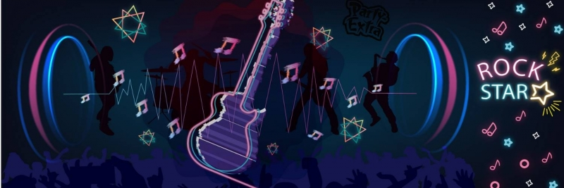 Rockstar Deko fuer Deine Superstar