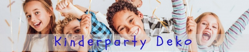 Party-Extra Kinderparty Deko für tolle Geburtstagsparties