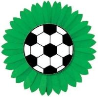 Party-Extra Dekofächer Fußball - Wanddeko für das große Spiel