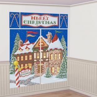 Dekofolien Santas Werkstatt