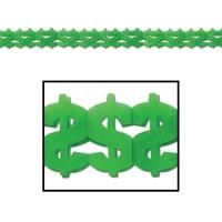 Girlande US-Dollars, 360 cm lang