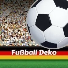 Party-Extra Fußball Deko WM 2018 Stimmung wie im Stadion