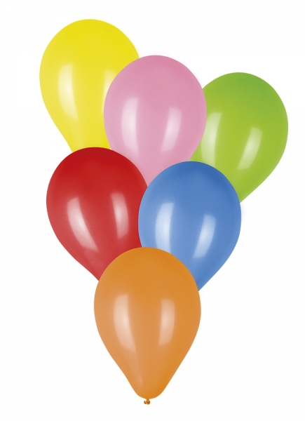 Bunte Luftballons, 100er Pack