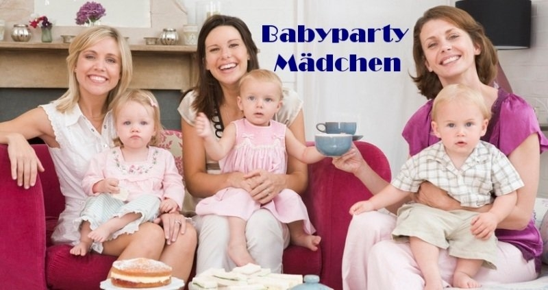 Party-Extra Mädchen Babyparty