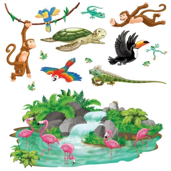 Dekofolien Tropischer Regenwald - Dschungel Deko