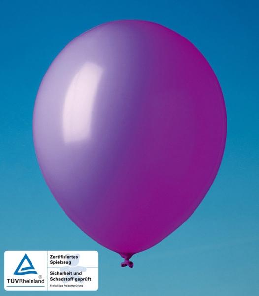 Luftballons violett