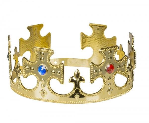 Koenigliche Krone, verstellbar - Mittelalter Deko
