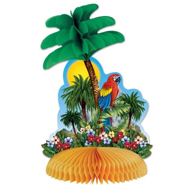 Tischdeko Tropische Insel - Beachparty Deko