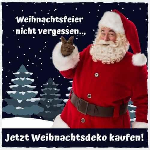 Weihnachtsdeko Frohes Fest Santa