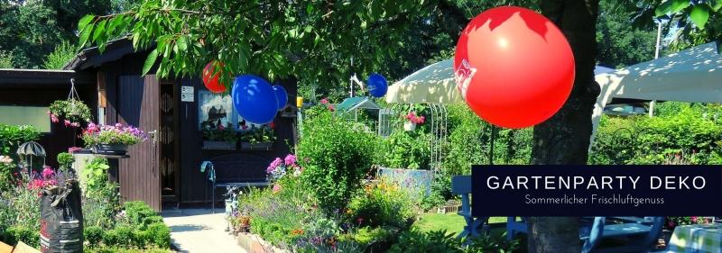 Gartenparty Deko - Sommer geniessen