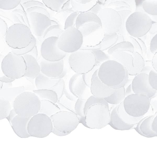 Weißes Konfetti, 100 g