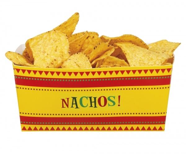 Nachschüssel Fiesta Mexicjana, 4er Pack - Mexikanische Tischdeko