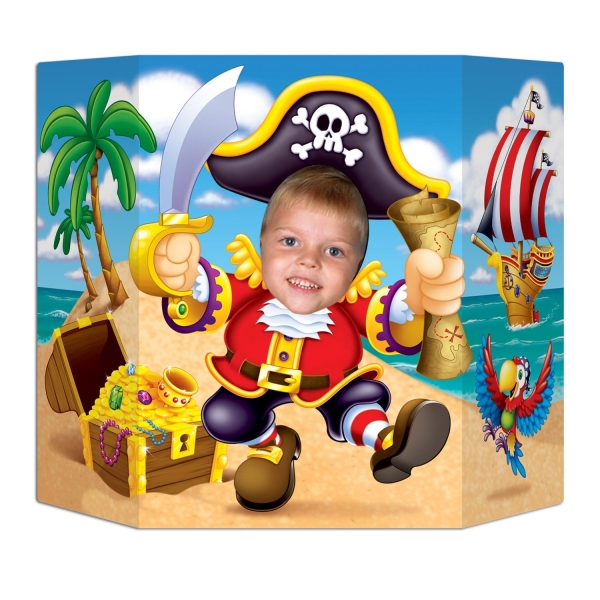 Fotowand aufsteller wilder pirat party extra - Fotowand aufsteller ...
