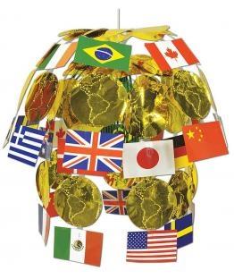 Hänge-Kaskade International, 60 cm groß