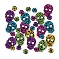 XL Glitzer Tischkonfetti Day of the Dead, 14 g