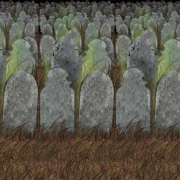 Party-Extra Dekofolie Alter Friedhof, 9 Meter