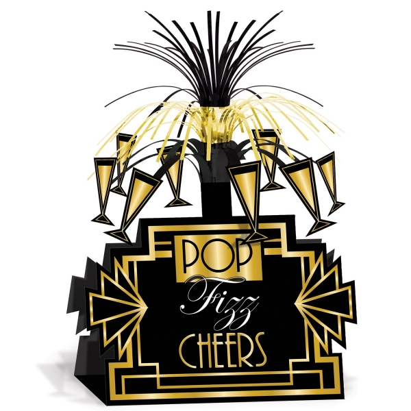 Tischdeko Cheers! Art Deco - Goldene 20er Jahre Deko