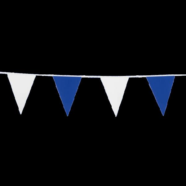 ´Wimpelkette blau-weiß - Vereinsdeko