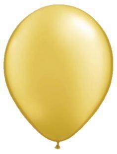 10 goldene Luftballons, Durchmesser bis 30cm