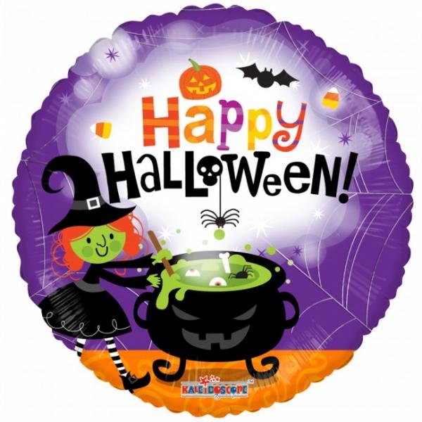 Folienballon Halloween Hexe - Hexendeko