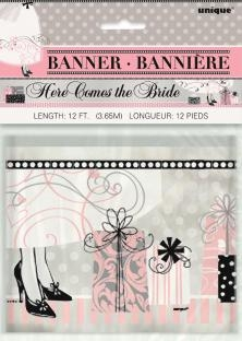 Folien-Banner Hochzeit - Hochzeitsdeko