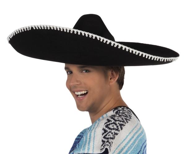 Party-Extra Sombrero Pancho Vila
